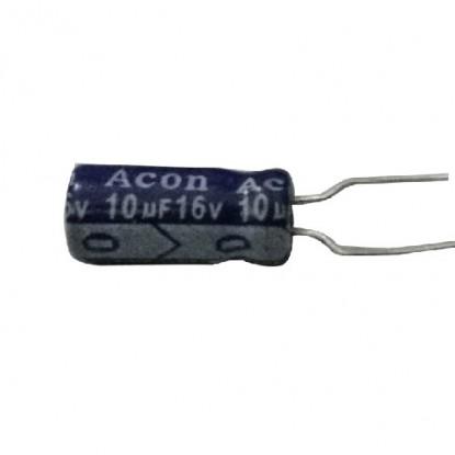CAPACITOR ELETROLITICO 10uF/16V