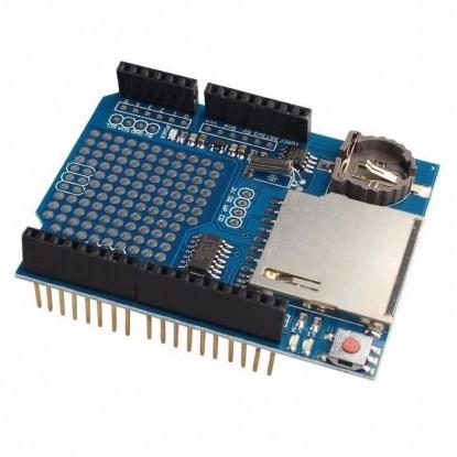 Shield Data Logger Arduino com RTC DS1307