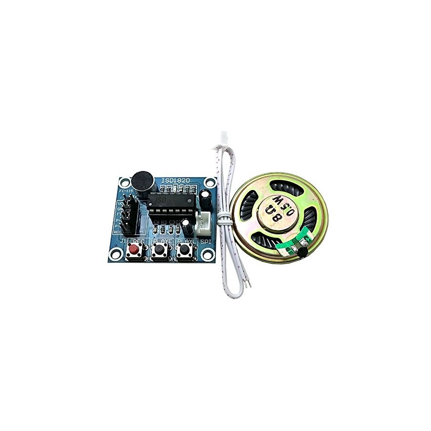Módulo de Gravação/Reprodução de Voz - ISD1820