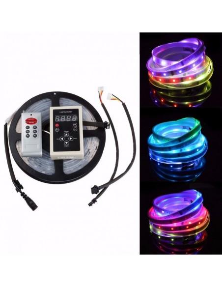 Fita de Led RGB ENDEREÇÁVEL (SMD5050 - 12V) + Controle 133 Efeitos