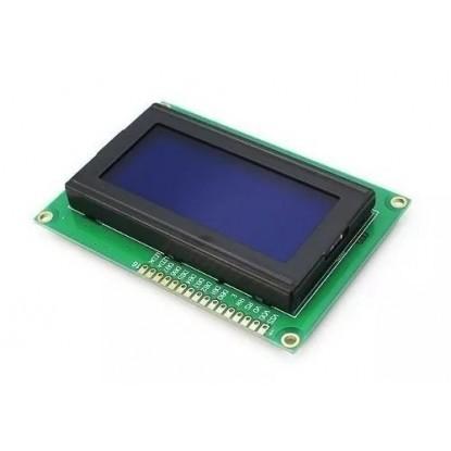 DISPLAY CRISTAL LÍQUIDO (LCD 20X04 - AZ/BR)