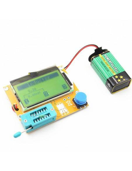 Testador Universal de Componentes Eletrônicos (Medidor de ESR)