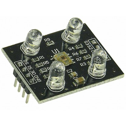 Módulo Sensor de Reconhecimento de Cor - TCS230