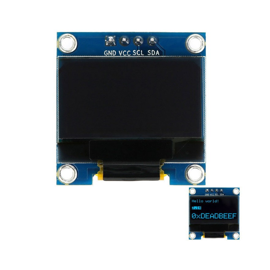 "Módulo Display OLED 128x64 0.96"" (Azul)"