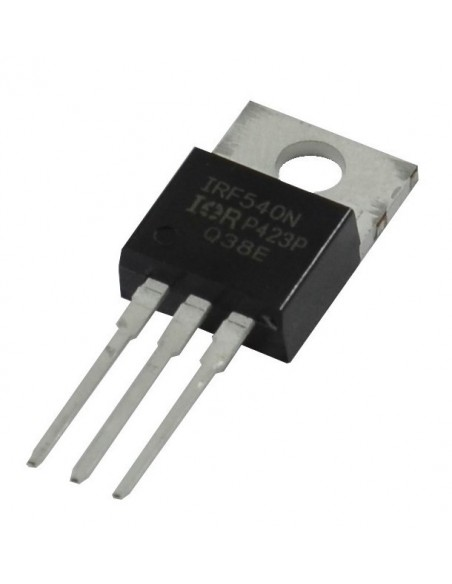 MOSFET IRF540 (Canal N)