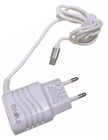 FONTE - CARREGADOR RÁPIDO - 5VDC 110/220V 2A C/MicroUSB