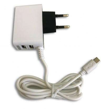 FONTE RASPBERRY PI - 5VDC 110/220V 2A C/MicroUSB