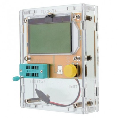Caixa para Testador Universal de Componentes Eletrônicos (Case Acrílica)