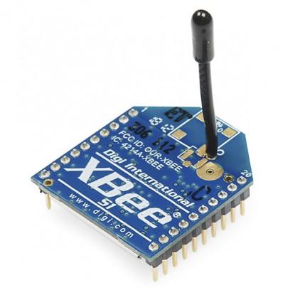 XBee RF ZNet 2.5 - 1 mW (Chip Antena) Frente