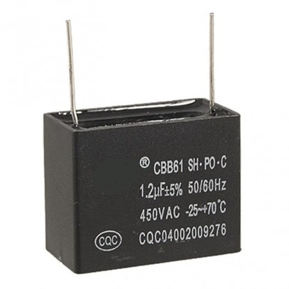 CAPACITOR 1,2uf 450VCA - Cbb61