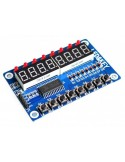 Módulo Display 7 Segmentos 8x7 TM1638 com botões programáveis