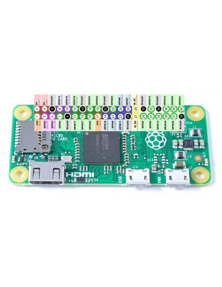 Raspberry Pi Zero W - pinagem