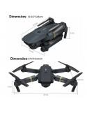 Drone X Pro 720p HD - dimensões