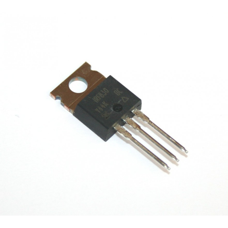 MOSFET IRF830 (Canal N)