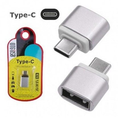 Adaptador USB OTG (USB-AxUSB-TipoC)