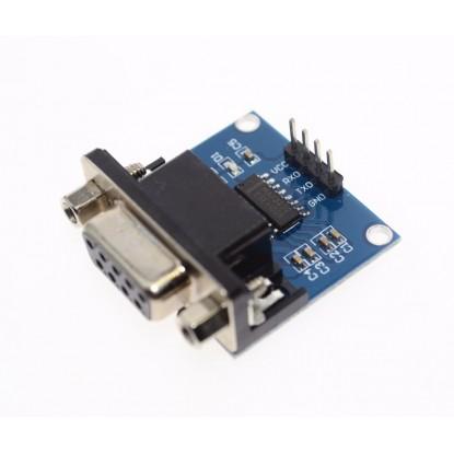 Módulo Conversor Serial RS232 para TTL (com DB9) frente