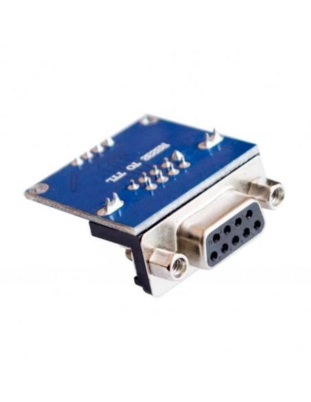 Módulo Conversor Serial RS232 para TTL (com DB9) verso