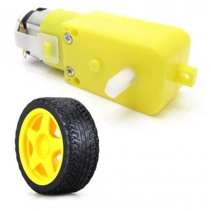 KIT Motor Redução 3-6V (180...
