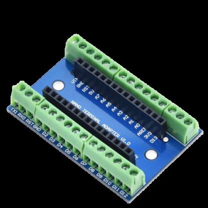 Shield Bornes p/ Arduino Nano
