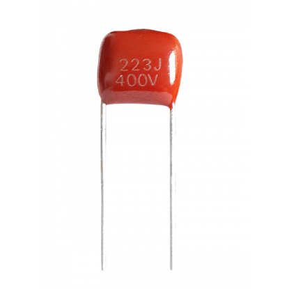 CAPACITOR POLIESTER 22nF/400V