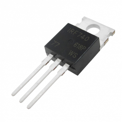 MOSFET IRF740 (Canal N)