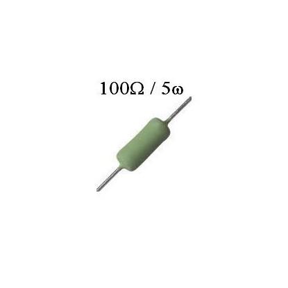 RESISTOR DE FIO 100R /  5W