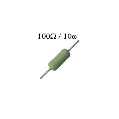 RESISTOR DE FIO 100R /  10W