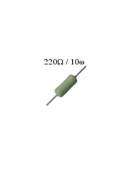RESISTOR DE FIO 220R /  10W