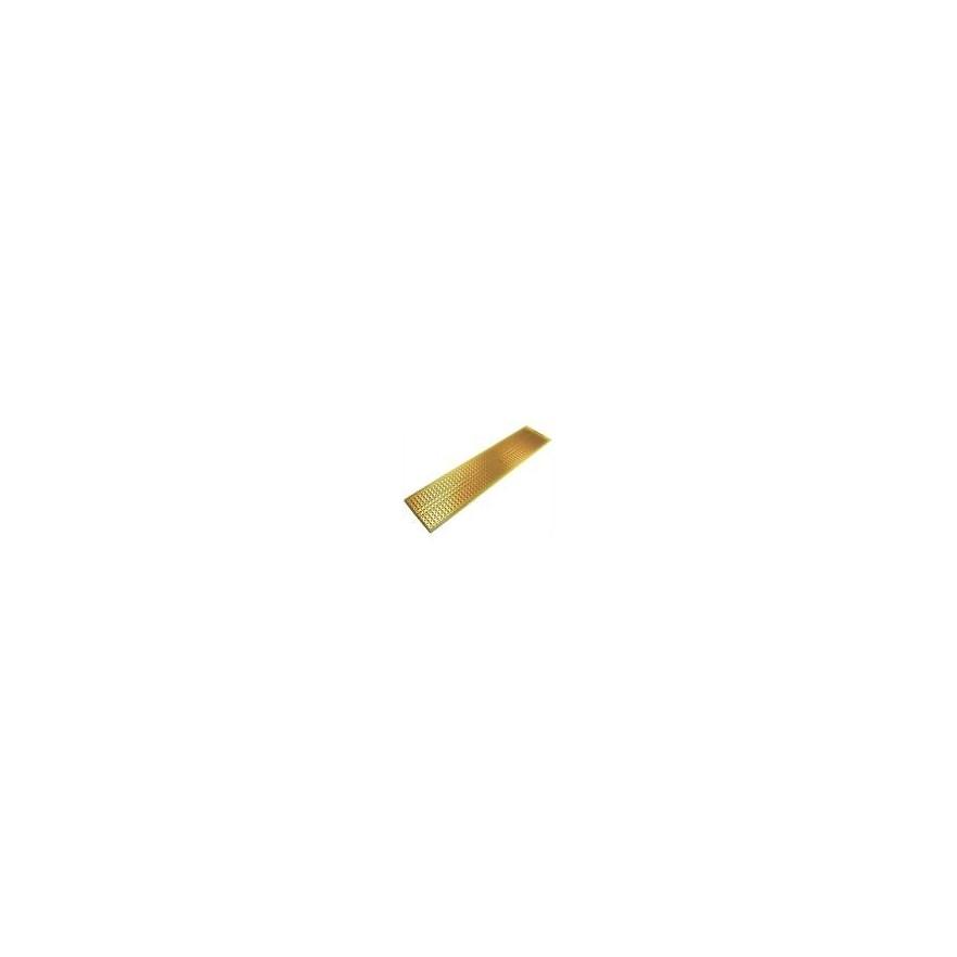 PLACA UNIVERSAL PERFURADA LIG. (2,8x12,9cm)