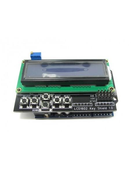 Shield Teclado com LCD 16x02 (AZ/BR)