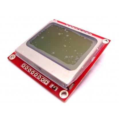Módulo Tela LCD Nokia 5110 - Frente