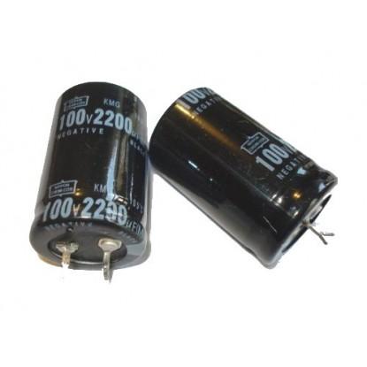 CAPACITOR ELETROLITICO 2200uF/100V