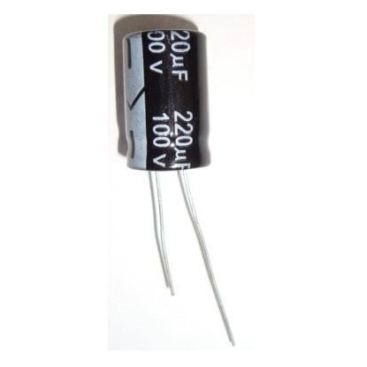 CAPACITOR ELETROLITICO 220uF/100V