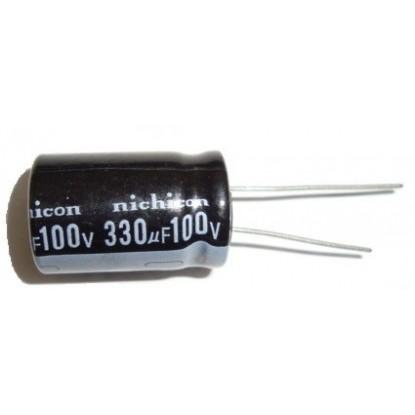 CAPACITOR ELETROLITICO 330uF/100V